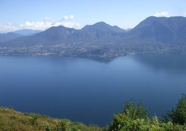 Il Lago Maggiore da Pollino (Verbania)