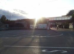 Deserti i parcheggi per i pendolari di Varese
