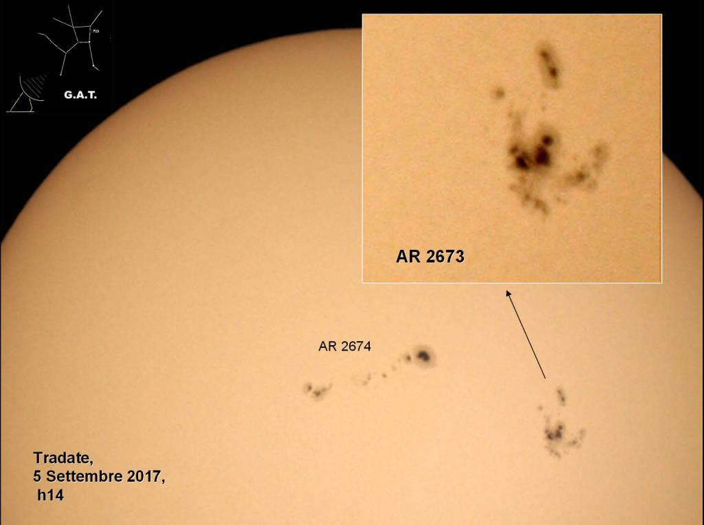 Eclisse agosto 2017 Gat Tradate