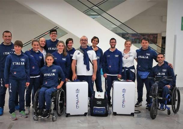 Paralimpici. Annullati i mondiali di nuoto