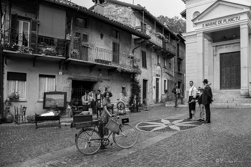 Oscar Turri gira un cortometraggio a Laveno Mombello