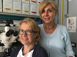 ricercatrici Elena Bossi e Rosalba Gornati