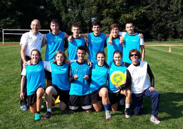 Squadra di frisbee dell'ite e del liceo Tosi