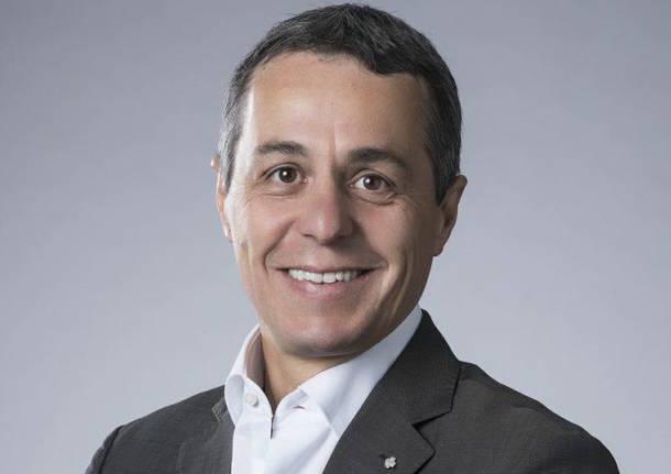 CF: Ignazio Cassis al Dipartimento degli affari esteri