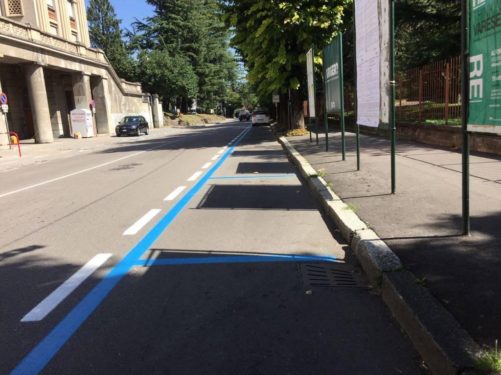 Varese - primo giorno piano sosta