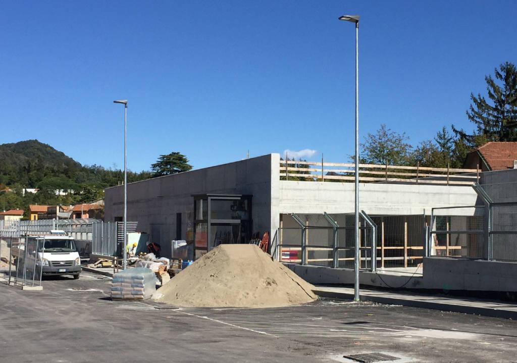 Arcisate Stabio - Induno Olona cantiere stazione 6 ottobre 2017