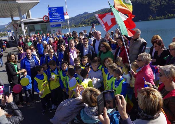 camminata transfrontaliera della pace