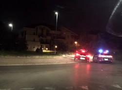 carabinieri polizia posto di blocco notte