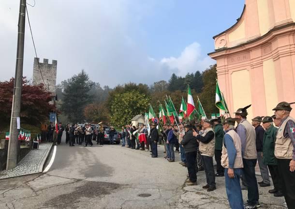 I 55 anni del gruppo alpini di Mesenzana