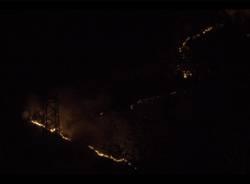 L\'incendio al Campo dei Fiori e alla Rasa