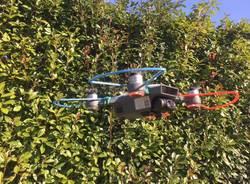 Il drone della polizia locale