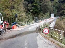 Ancora lavori al ponte di Curiglia con Monteviasco