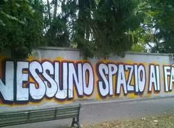 "Telos: graffiti e minacce al sindaco Fagioli. \""Li denuncerò\"""