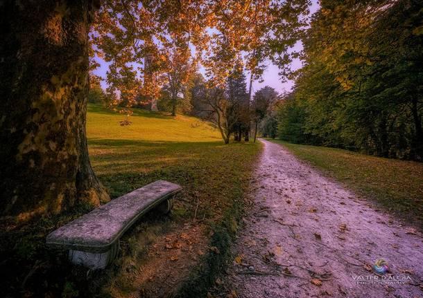 Passeggiando a Villa Cagnola