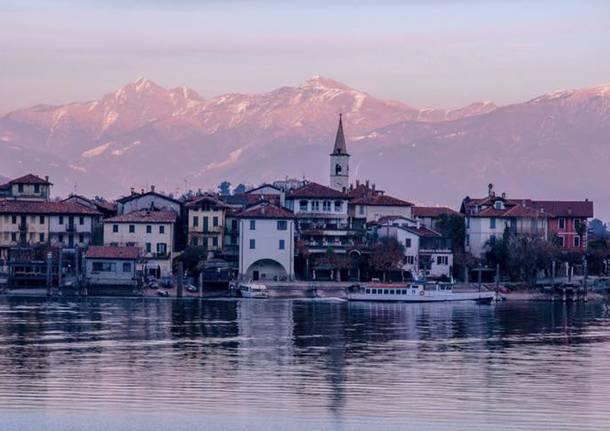 L\'isola dei Pescatori sul Lago Maggiore