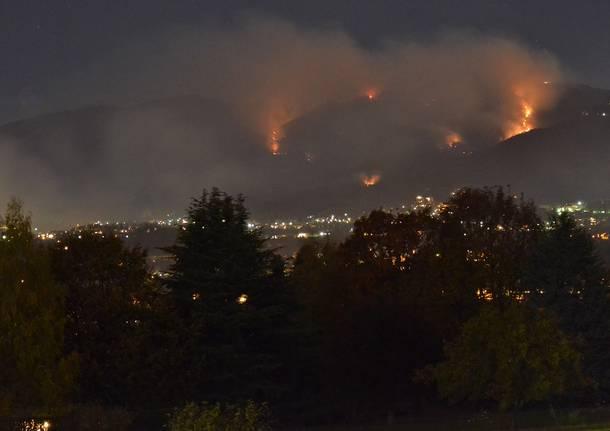 Incendio Campo dei Fiori
