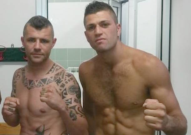 christian bozzoni mattia scaccia pugilato panthers lauri boxing team