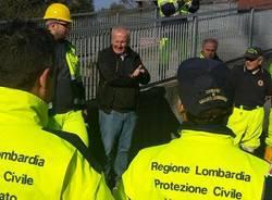 Esercitazione congiunta della protezione civile a Inarzo