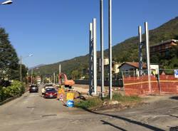 Ferrovia Porto Ceresio - cantiere 10 ottobre 2017
