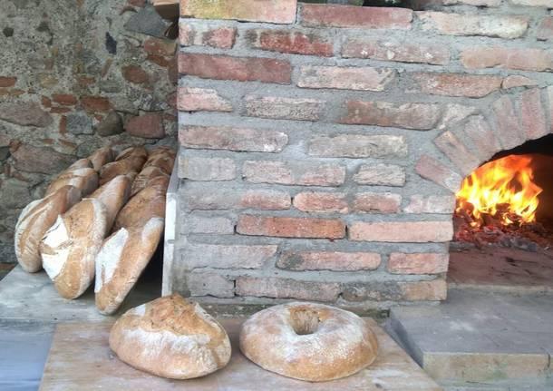 Inaugurato il forno comune di Mulini di Gurone
