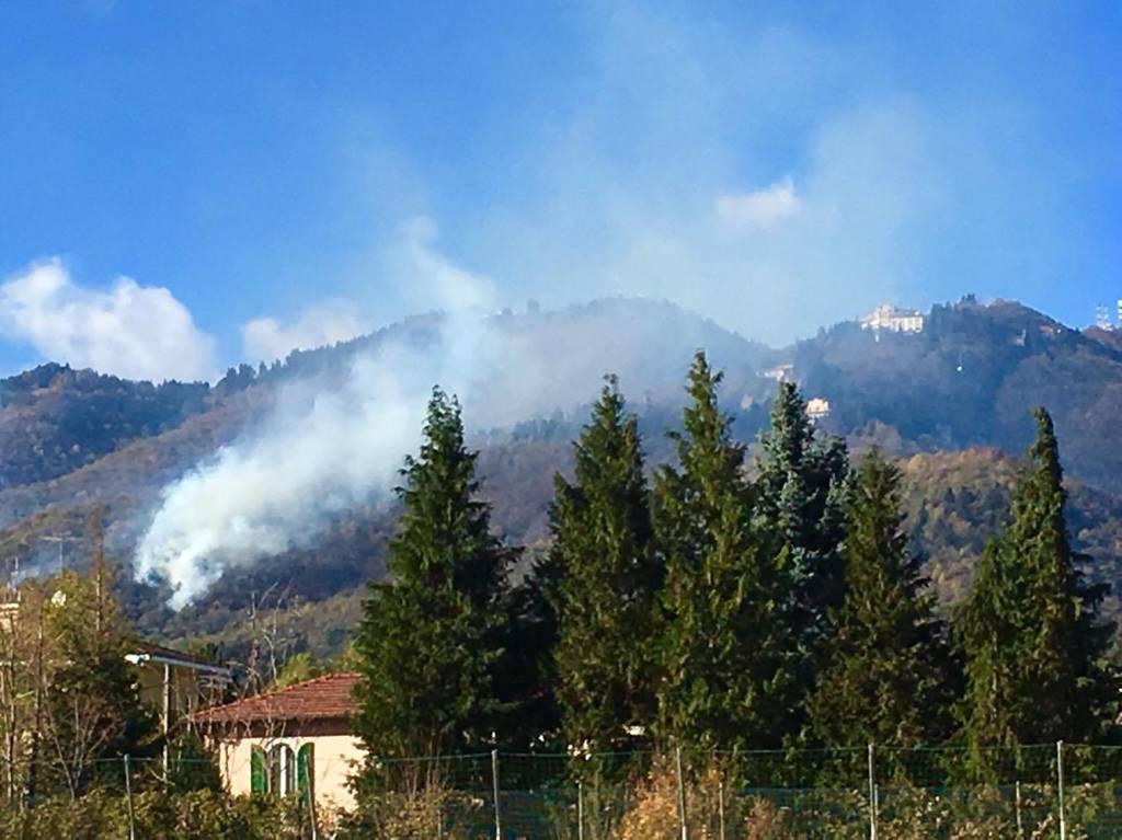 Incendio a Campo dei Fiori