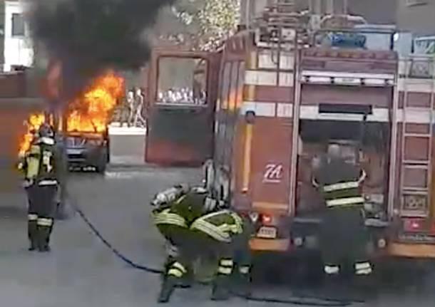 incendio Cairate