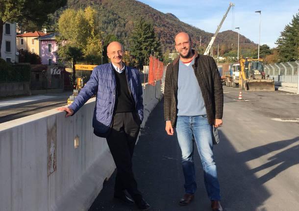 Induno Olona - Ferrovia strade 24 ottobre 2017