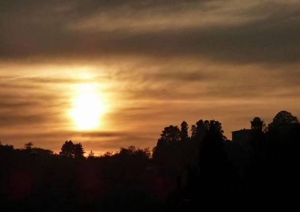 Induno Olona, tramonto - Foto di Cristina Mainini
