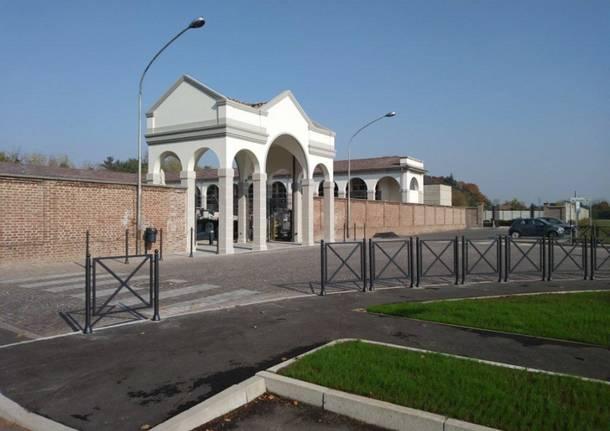 ingresso cimitero borsano