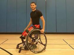kenneth rodriguez gonzalez basket in carrozzina handicap sport cimberio