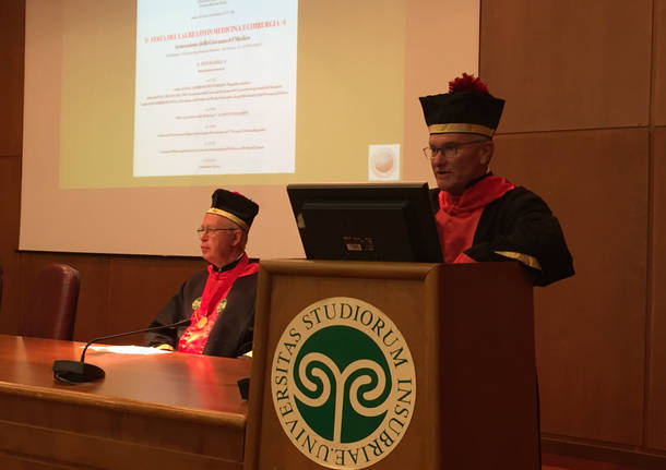 Festa del Laureato in medicina all'Insubria
