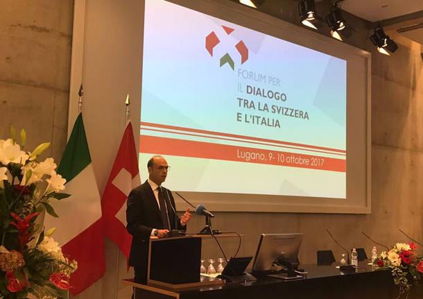 Lugano - Quarto Forum per il dialogo tra Italia e Svizzera