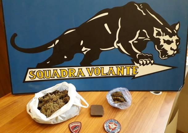 marijuana hashish squadra volante