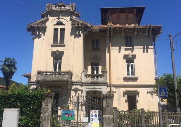 Porto Ceresio – La scuola materna Maffei in ristrutturazione