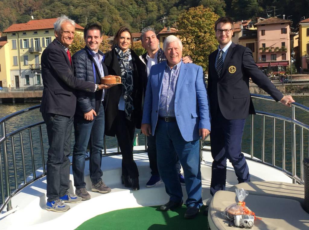 Porto Ceresio - Visita assessore Cristina Cappellini