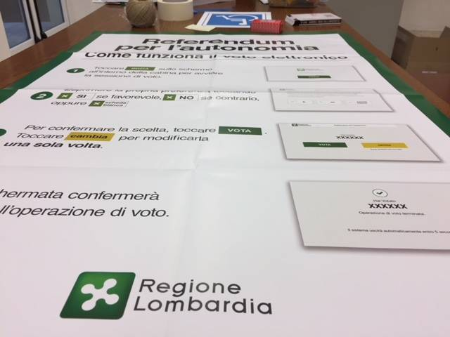 referendum autonomia voto elettronico tablet