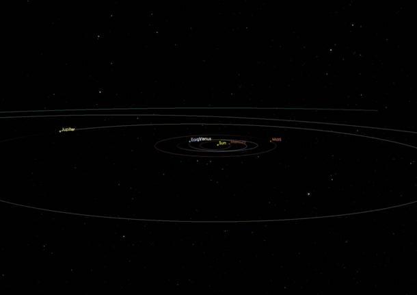 Scoperto asteroide interstellare