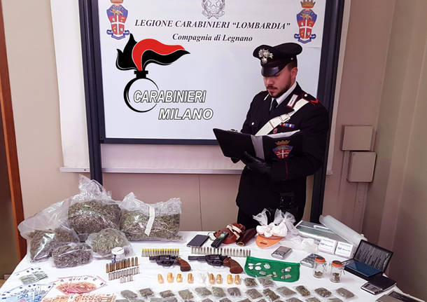 sequestro droga carabinieri legnano