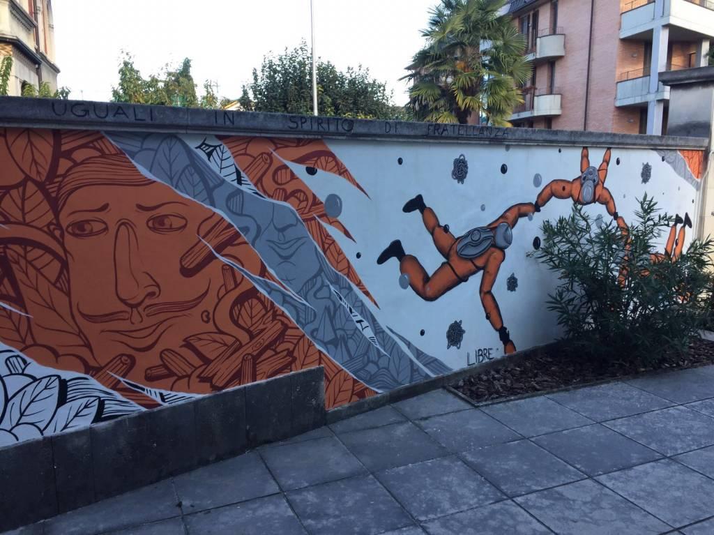 Street Art per i diritti umani
