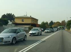 traffico viale borri castellanza