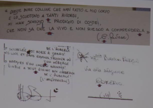 Udienza Lidia macchi con Fontana e grafologa