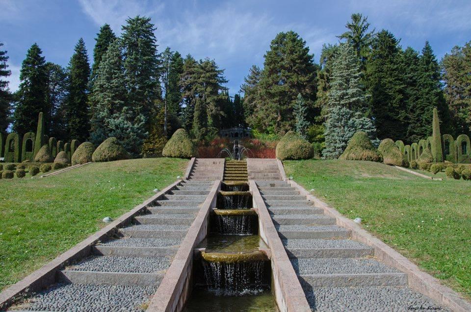 Villa Toeplitz d'autunno