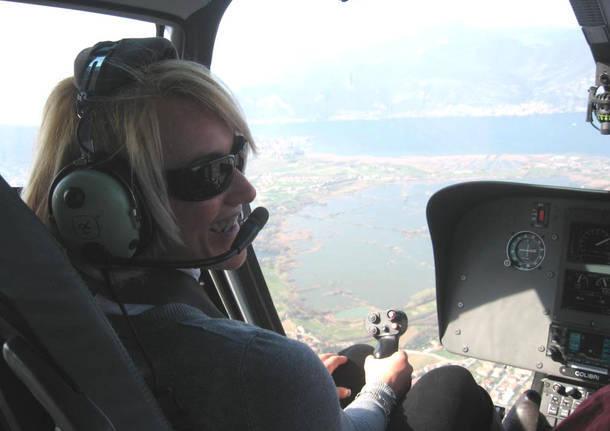 vittima elicottero stefania fendoni