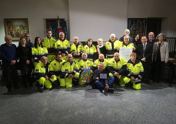 A Gavirate si ringrazia la protezione civile