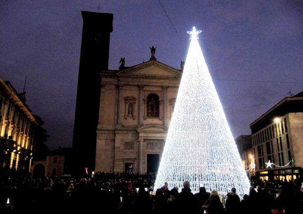 Accensione albero di Natale a Gallarate
