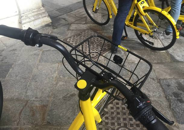 Arriva il bike sharing Ofo a Varese