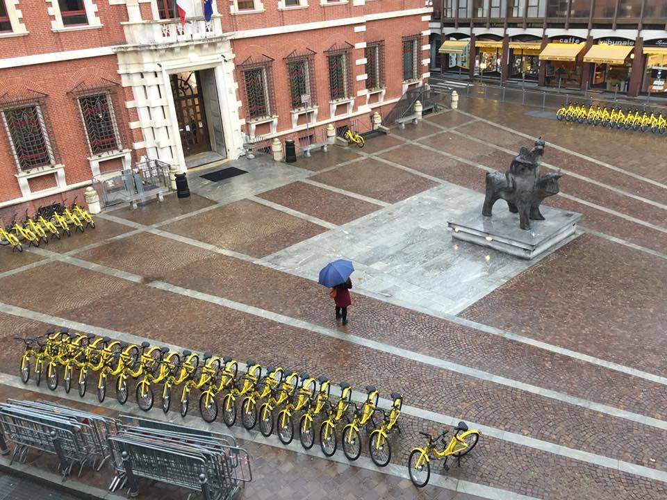 Arriva il bike sharing Ofo a Varese