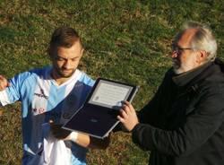 Michele Scavo, 100 partite con la maglia biancoceleste