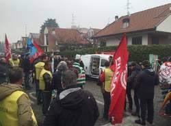 Protesta lavoratori artigiani a Gallarate