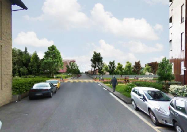 Greenway il Comune svela il concept. Ci sono i rendering ma non il progetto.